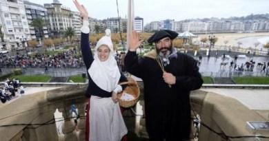 El desfile de Olentzero y Mari Domingi provocará afecciones de tráfico en el Centro,