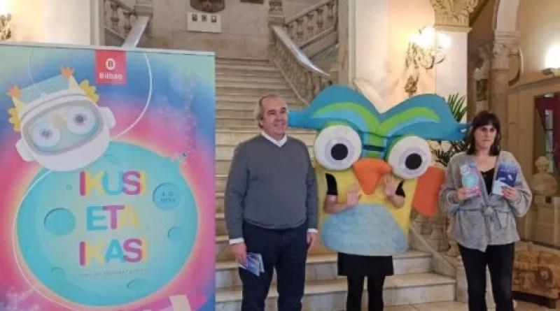 """Presentan en Bilbao la decimosexta edición de """"Ikusi Eta Ikasi"""" con una nueva categoría y un total de 75 actividades gratuítas para menores de 4 a 10 años,"""