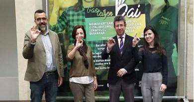 La campaña 'Gasteizen bai' impulsará el uso del euskera en el comercio y la hostelería hasta mayo,