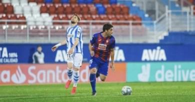 El Eibar no puede sumar ante la Real Sociedad en un Ipurua vacío,