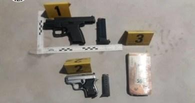 Detenido en Getaria por robar un grupo electrógeno, falsificar documentos y tenencia ilícita de armas de fuego,