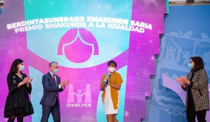 Landaida condena el crimen de Vitoria y pide una actitud «activa» de toda la sociedad contra la violencia machista,