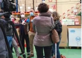 Repartirán en Euskadi casi 900.000 kilos de alimentos en la segunda fase del Programa de Ayuda Alimentaria dirigido a las personas más desfavorecidas,
