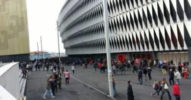Euskadi mantendrá los aforos en los estadios en el 20% hasta que mejore la situación epidemológica,