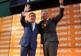 Las acciones de Euskaltel se disparan por encima del 16% tras la OPA de MásMóvil,