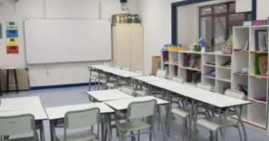 Se elevan a 105 las aulas cerradas en Euskadi, once más que el martes y el 0,60% del total,