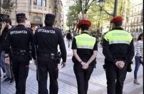 Imponen el fin de semana 1.210 denuncias en Euskadi, un 4,3% más,