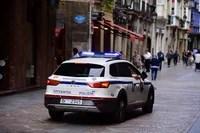 Nueva noche de desórdenes públicos en Donostia con una decena de detenidos tras arrojar objetos a ertzainas en la Parte Vieja,