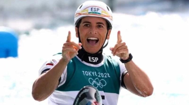 Maialen Chourraut logra la medalla de plata,