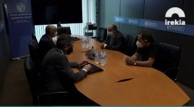 Josu Erkoreka se reunió ayer con M. Limam Mohamed Ali, Delegado de la República Árabe Saharaui Democrática en Euskadi,