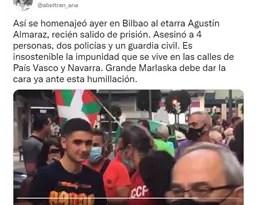 El PP exige a Marlaska «dar la cara» ante los homenajes que reciben los miembros de ETA que salen de prisión,