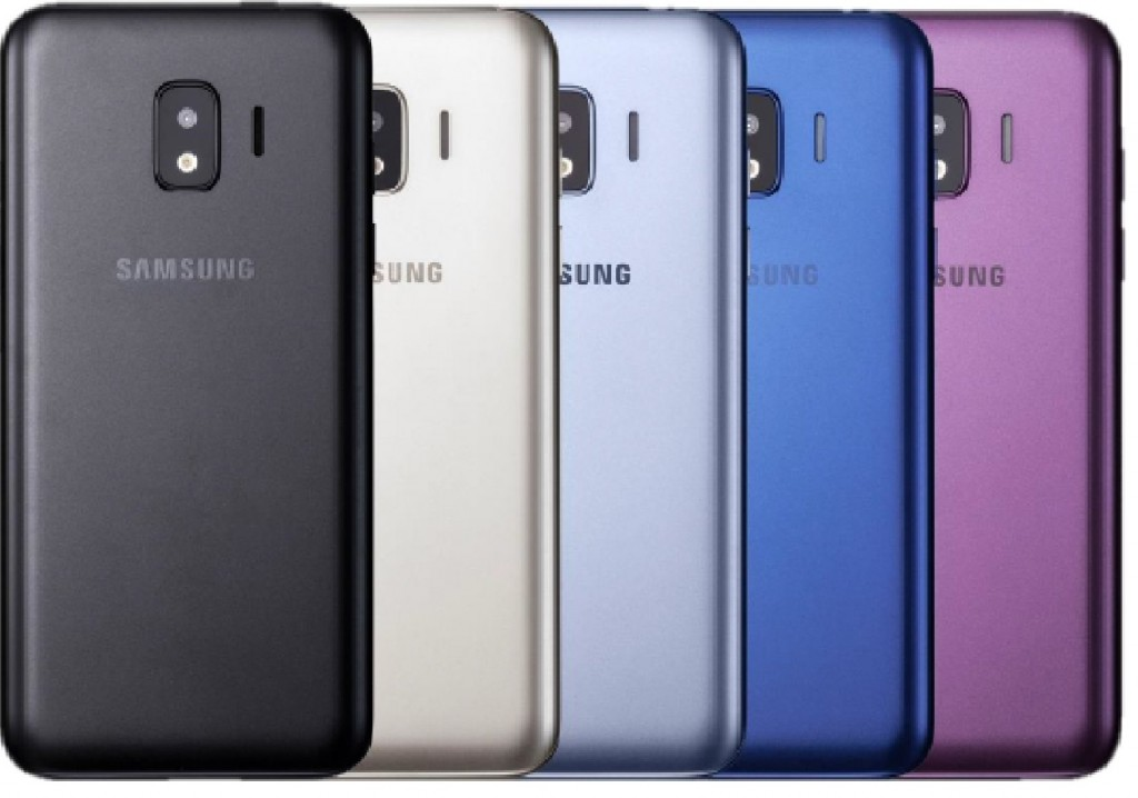 Manual do Samsung Galaxy J2 Core mostra um telefone com