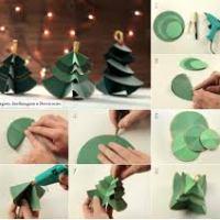Trabalhos Manuais: Árvore de Natal