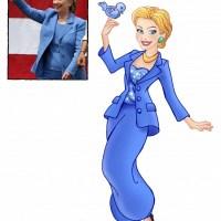 Artista transforma grandes mulheres em princesas da Disney (Ler texto antes de ver as imagens)