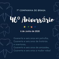 Parabéns 7.ª Companhia de Braga