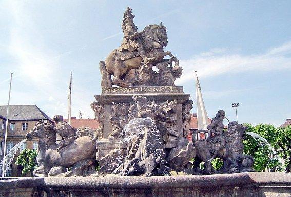 Markgrafenbrunnen Bayreuth