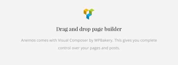 Anemos Page Builder