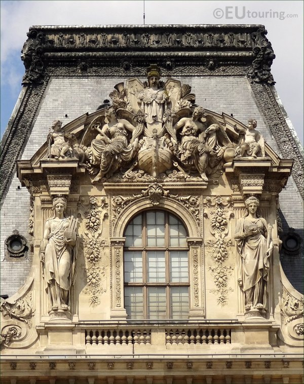 Statues Louvre Museum Sculptures