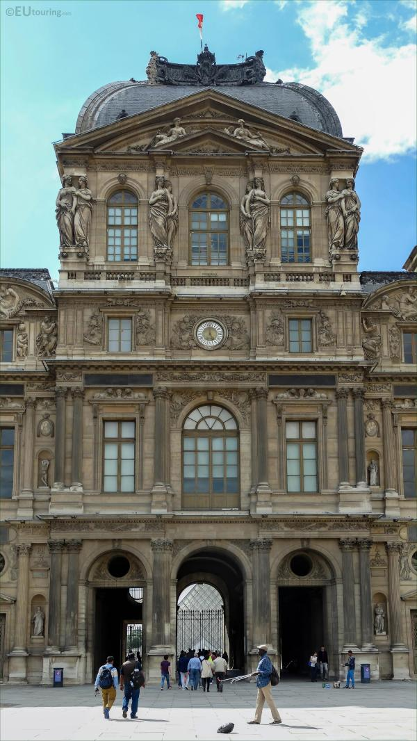 Cour Carree Of Louvre Eutouring
