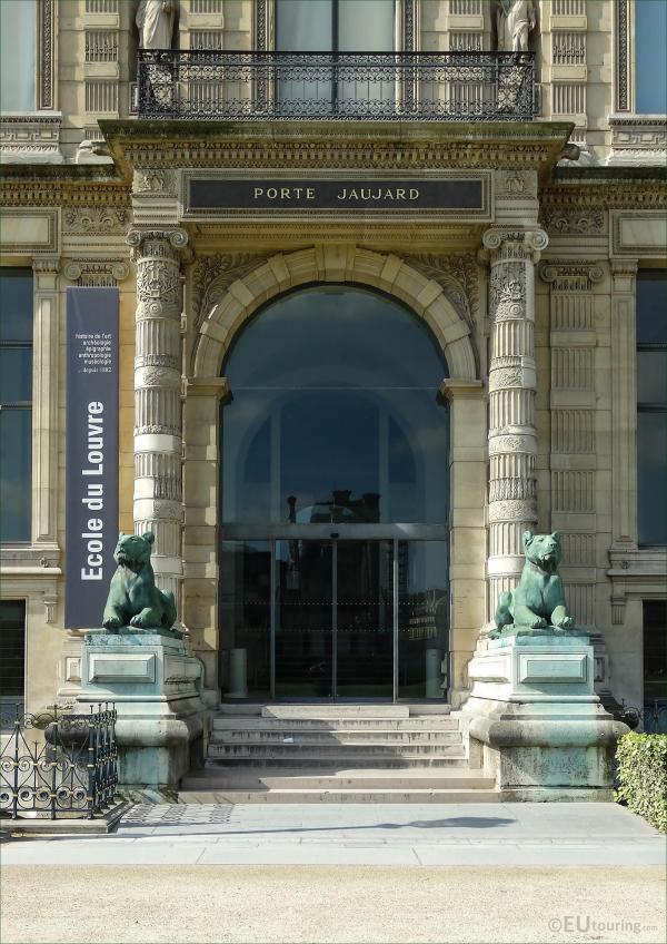 Porte Jaujard Of Louvre Eutouring