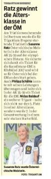 VN-Heimat Bregenz 18.8.16 Ratz Staatsmeisterin