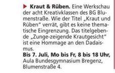 Kirchenblatt 2.6.16 Kraut und Rüben