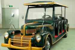 Golf Cart of Classic Style รถกอล์ฟ ทรงโบราณ ระบบไฟฟ้า 6,8 และ 12 ที่นั่ง