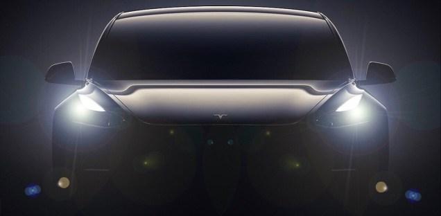 Model 3 lights on
