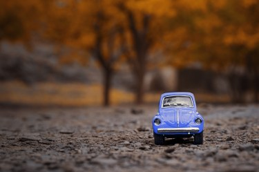 VW beetle Classic Purple