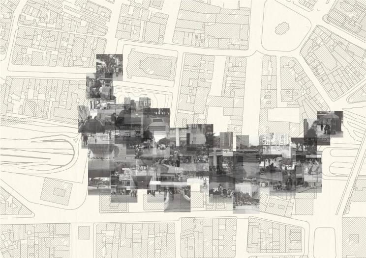 mapa sobreposição