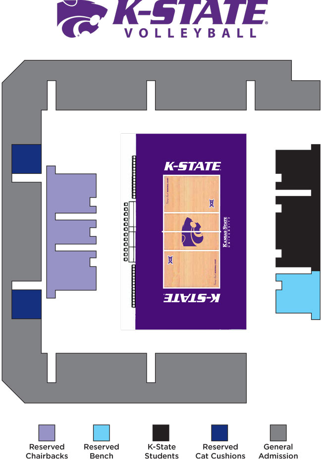 Kansas State University Stadium Seating