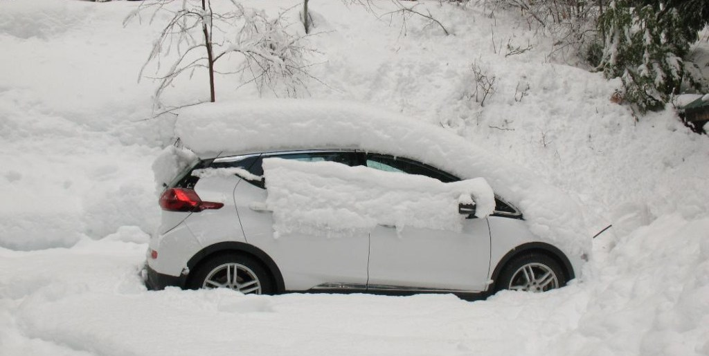 But I've heard that EVs don't do as well in cold weather…