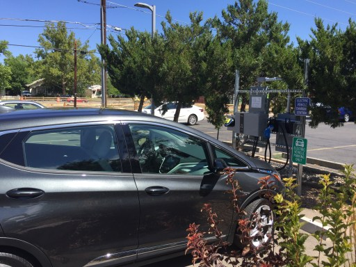 Chevy Bolt at Grand Junction, CO's first DC fast charger