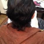 ふんわりスタイルのための縮毛矯正