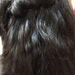 縮毛矯正とデジパを同時にする例
