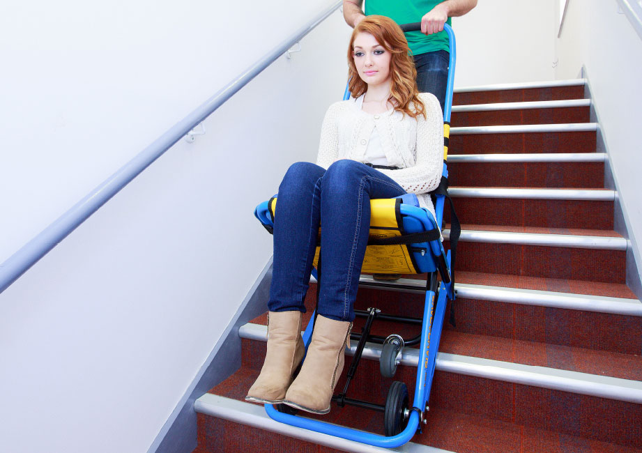 EvacChair  The Worlds 1 Stairway Evacuation Chair