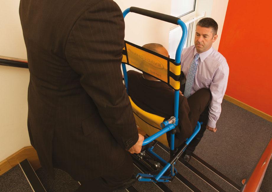 EvacChair  The Worlds 1 Stairway Evacuation Chair