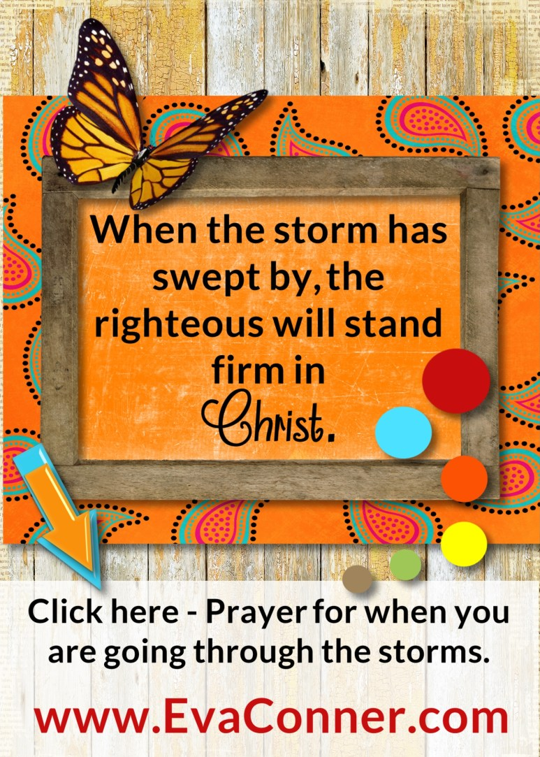Prayer to help you stand strong in the storm