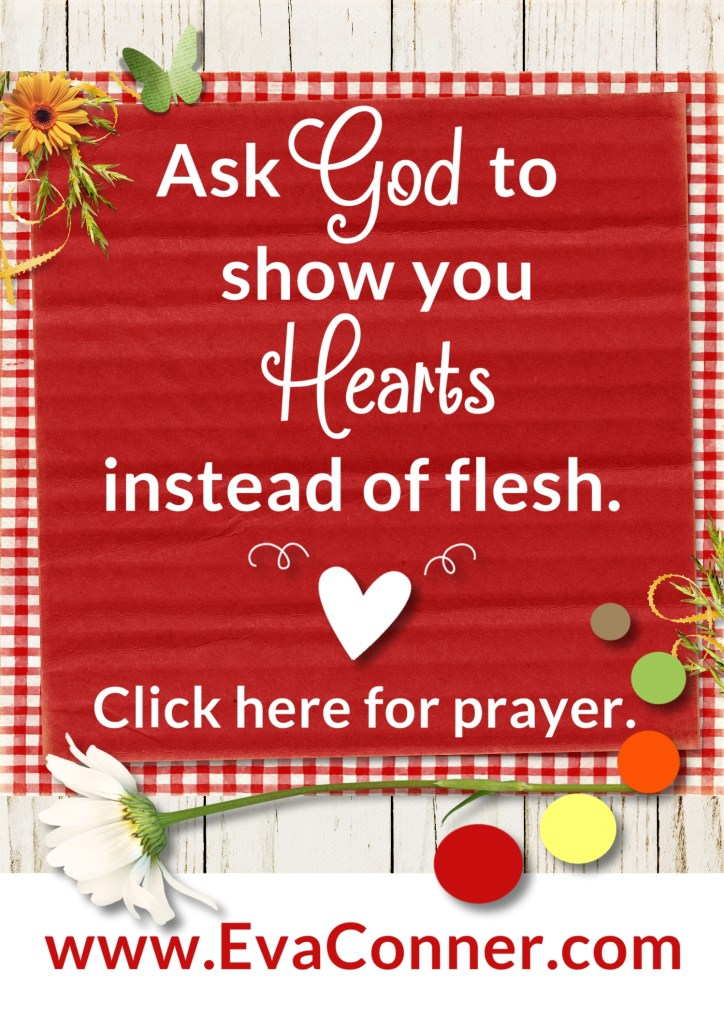 See hearts instead of flesh