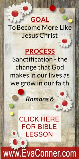 Sanctification - crucified with Christ