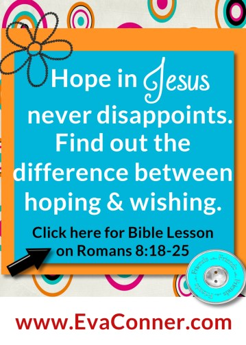 Hope in Jesus with eager expectation