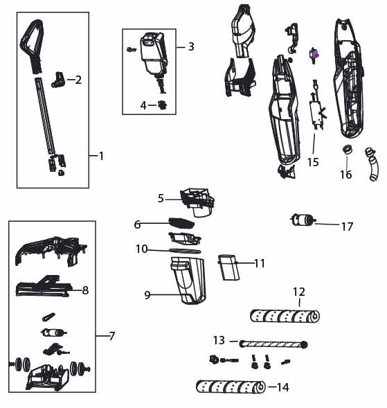 Wiring Database 2020: 30 Bissell Vacuum Parts Diagram