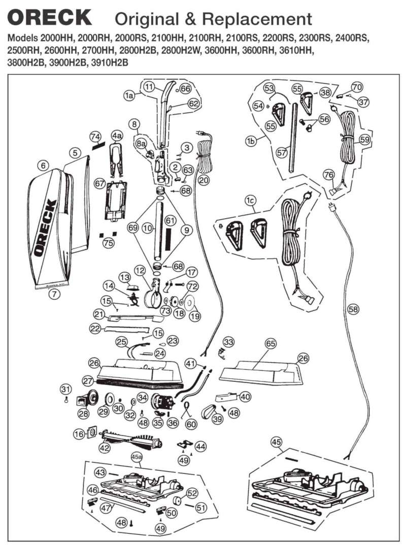 [DIAGRAM] Oreck Xl Vacuum Wiring Diagram FULL Version HD