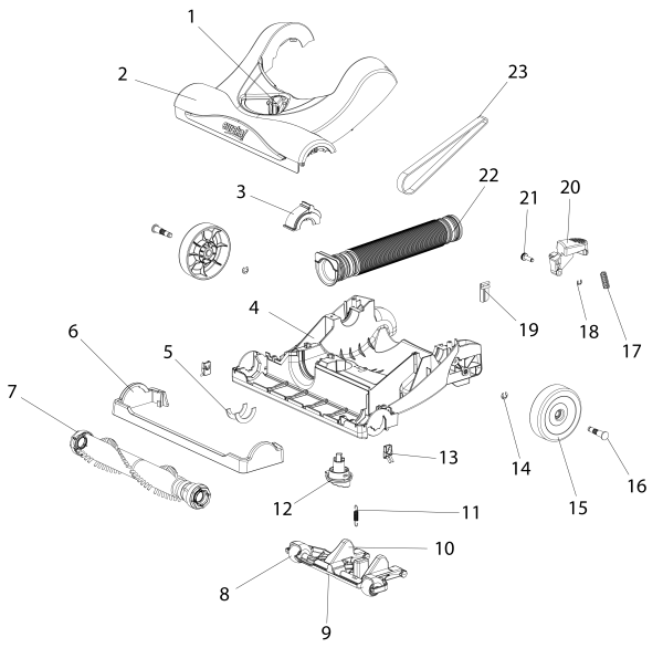 Miele Vacuum Cleaner Wiring Diagram