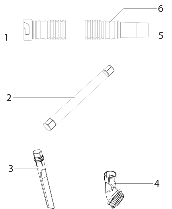 Eureka AS2011A Upright Vacuum Parts List and Diagram