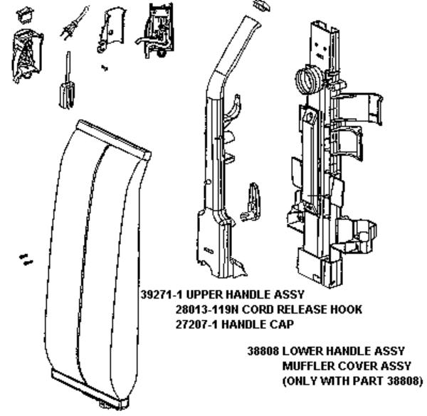 Eureka Series 7700 Factory Parts Diagrams and Schematics