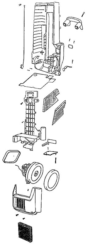 Eureka Series 6400 Factory Parts Diagrams and Schematics