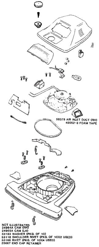 Eureka Series 4000 Factory Parts Diagrams and Schematics