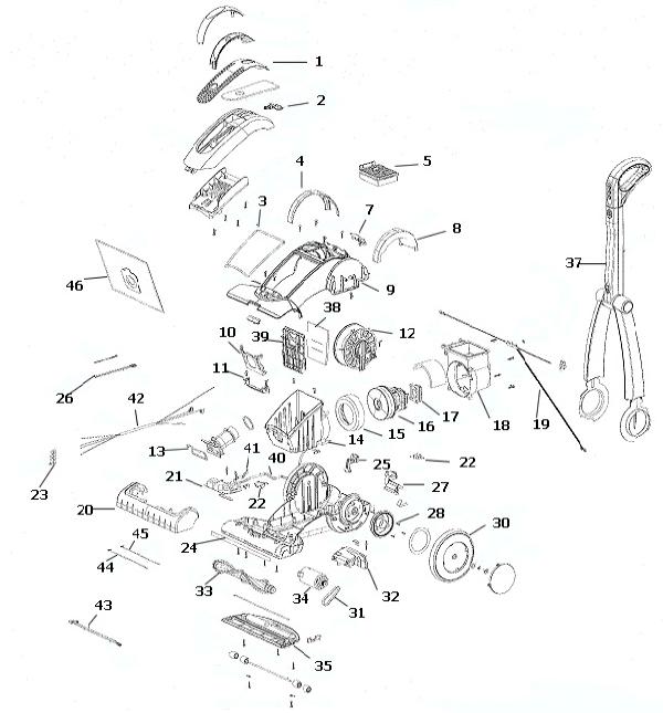 electrolux vacuum schematics