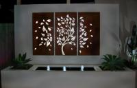 How To Decorate Using Tropical Outdoor Metal Wall Art ...